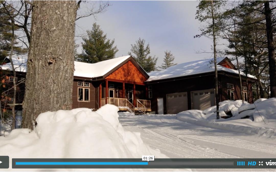 Cedarland Homes Video, Parry Sound, Ontario