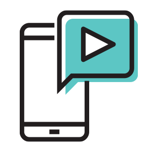 Flypress brand video services icon
